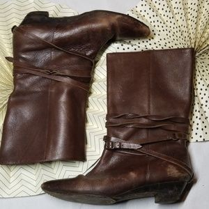 Frye Boots Size 9.5 Mid Calf
